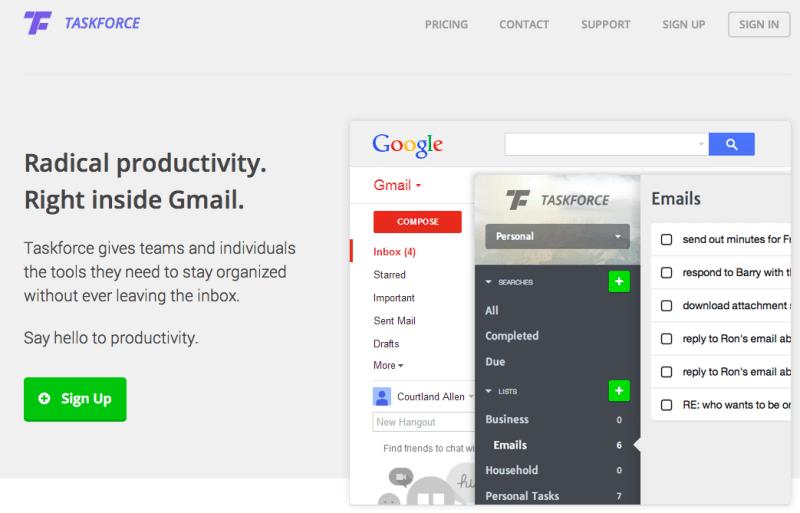 correo de gmail taskforce